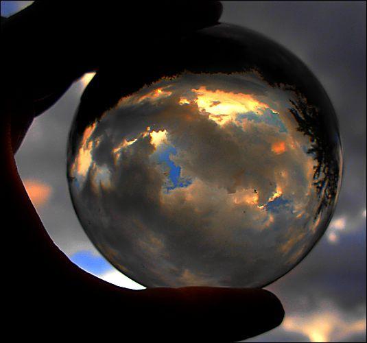 tempête dans la boule